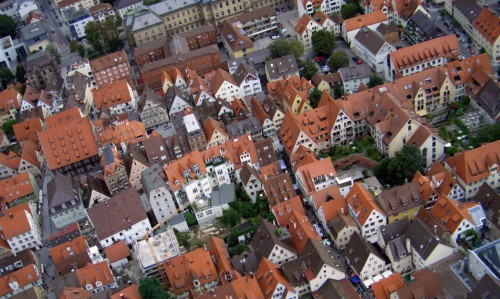 Image of German town